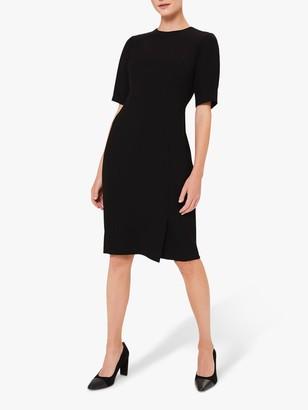 Hobbs Jolie Shift Dress, Black