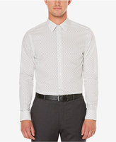 Perry Ellis Men's Big and Tall Staggered Rectangle Print Shirt, A Macy's Exclusive Style
