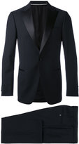 Z Zegna satin-trimmed suit - men - Cupro/Wool - 52