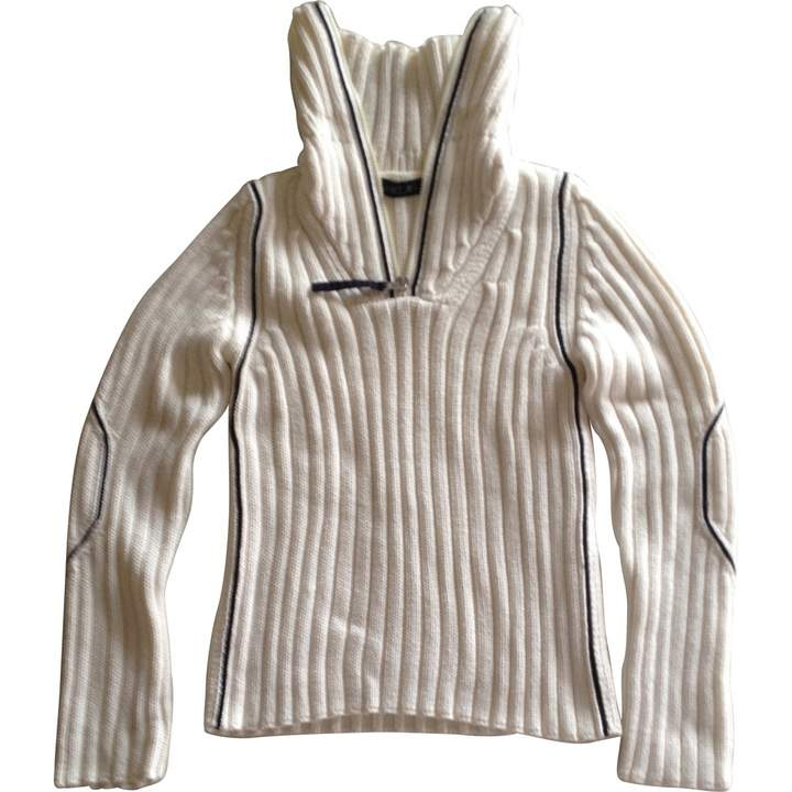 Marc Cain White Cotton Knitwear for Women