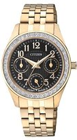 Citizen Women's ED8132-55E Analog Display Japanese Quartz Gold Watch