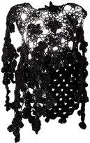 Simone Rocha 'Flora' knitted overlay - women - Silk/Lurex/Polyamide/Mohair - 6