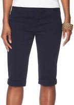 Chaps Plus Stretch Cotton Five-Pocket Shorts