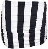 Norma Kamali Striped Bill Bottom