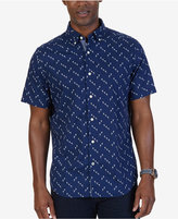 Nautica Men's Classic-Fit Floral Shirt