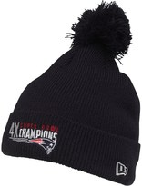 New Era NFL New England Patriots Knitted Bobble Hat Navy