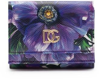 Dolce & Gabbana Floral Print Wallet