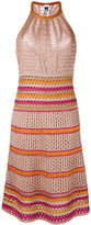 M Missoni loose knit dress - women - Polyester/Viscose/Metallic Fibre - 40