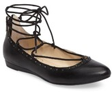 Jessica Simpson Women's Libra Lace-Up Flat