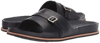 Kork-Ease Downey (Black Full Grain Leather) Women's Sandals