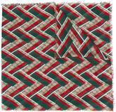 Gucci GG chevron scarf