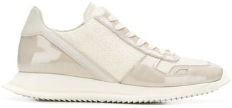 Rick Owens Lace-Up Runner Sneakers
