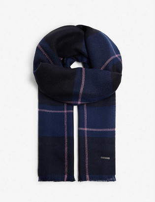 Ted Baker Halwil check scarf