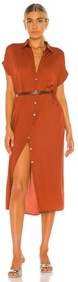 Indah Delphina Shirt Dress