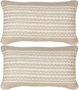 Miles Talbott Collection S/2 Glynn 12x20 Pillows, Beige