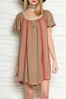 Easel Short Sleeved Dress