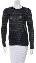 A.L.C. Metallic Striped Sweater