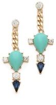 Club monaco Turquoise Spike Earrings