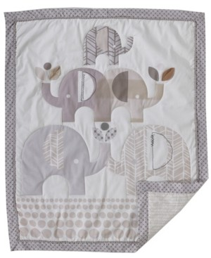 3 Stories Trading Lolli Elephant Parade 3 Piece Nursery Bedding Set