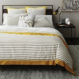 DwellStudio Dwell Studio Draper Stripe Duvet Cover, King