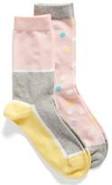 Nordstrom Women's 2-Pack Crew Socks
