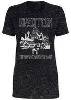New World Led Zeppelin Burnout T-Shirt- Juniors