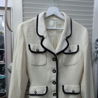 Chanel Beige Wool Jackets