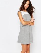 Esprit Lace Insert Stripe Dress