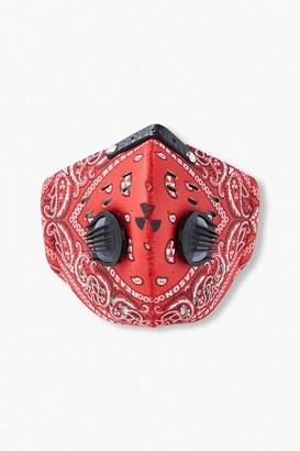 Forever 21 Men Paisley Face Mask