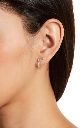 Candela 14K Yellow Gold Chain Double-Pierced Earrings