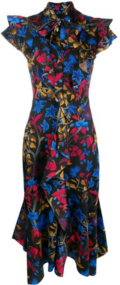 Peter Pilotto Tropical Print Dress