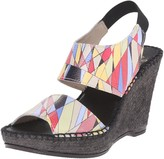 Andre Assous Women's Reese Espadrille Wedge Sandal
