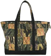 Palm Angels camouflage print tote