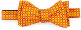 Ted Baker Mini Floral Silk Bow Tie, Orange