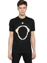 Givenchy Cuban Fit Printed Cotton Jersey T-Shirt