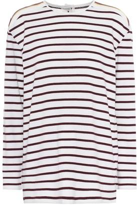 Victoria Victoria Beckham Striped cotton T-shirt