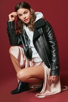 Urban Outfitters Cropped Aviator Jacket