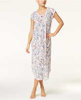 Charter Club Crinkle Printed Knit Nightgown, Only at Macy's
