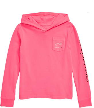 Vineyard Vines Foil Whale Hooded Tee