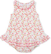 Kissy Kissy Pixie Flowers Sleeveless Play Dress, Red/White, Size 3-18 Months