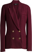 St. John Notch Collar Refined Textured Jacket