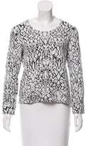 Generation Love Patterned Long Sleeve Top