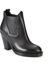 Acne Studios Stretchy Leather Ankle Boots