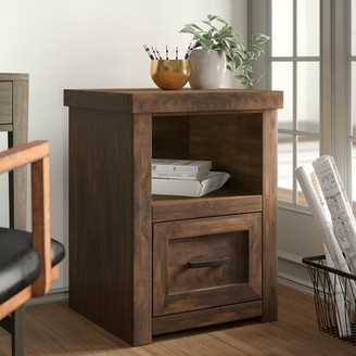 Three Posts Pooler 1 Drawer Verticle Filing Cabinet