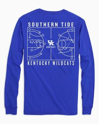 Southern Tide Kentucky Wildcats Long Sleeve Basketball T-Shirt