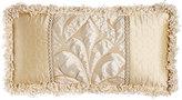 "Dian Austin Couture Home Neutral Modern Pieced Box Pillow, 22"" x 10"""