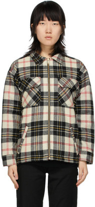 Noon Goons Off-White Plaid Crowd Jacket
