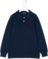Ralph Lauren logo polo shirt - kids - Cotton - 2 yrs