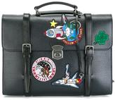 Dolce & Gabbana patch briefcase style backpack