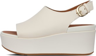 FitFlop Eloise Leather Back-Strap Wedges